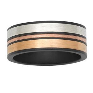 Multi-Coloured zirconium ring