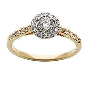<p>Popular Halo Diamond Ring</p>