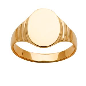<p>Oval Signet Ring (approx 13x11mm)</p>