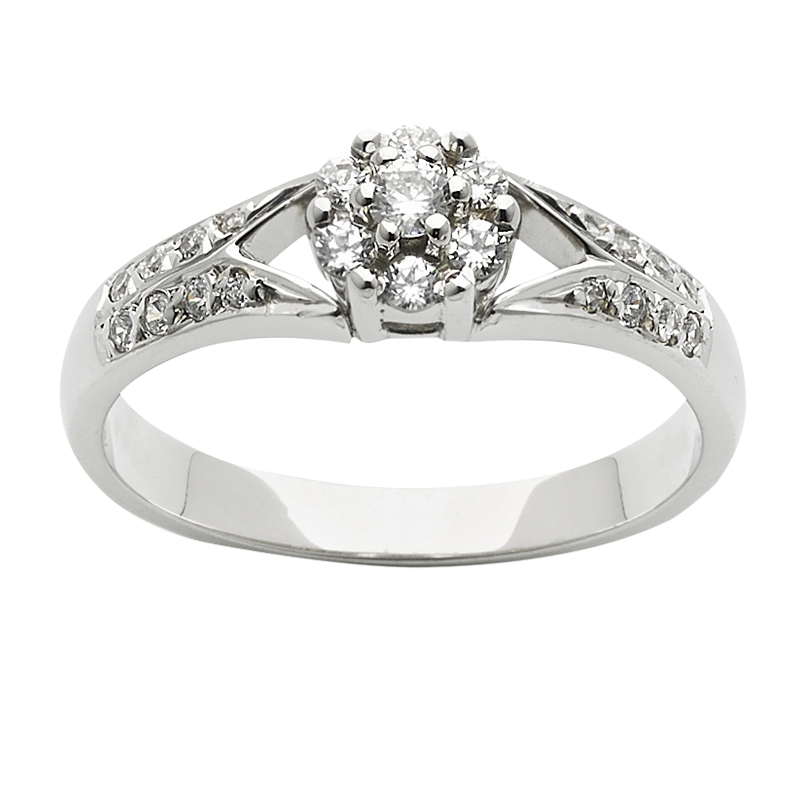 Diamond Engagement Ring – DD474 D