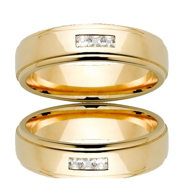 Men's Wedding Ring – AR543-C6 D