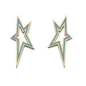 <p>Star City Earrings</p>