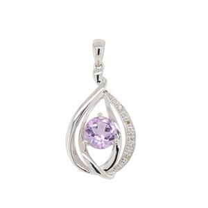 9ct white Gold Pendant