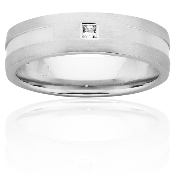 Men's Wedding Ring – AR539-C6 D