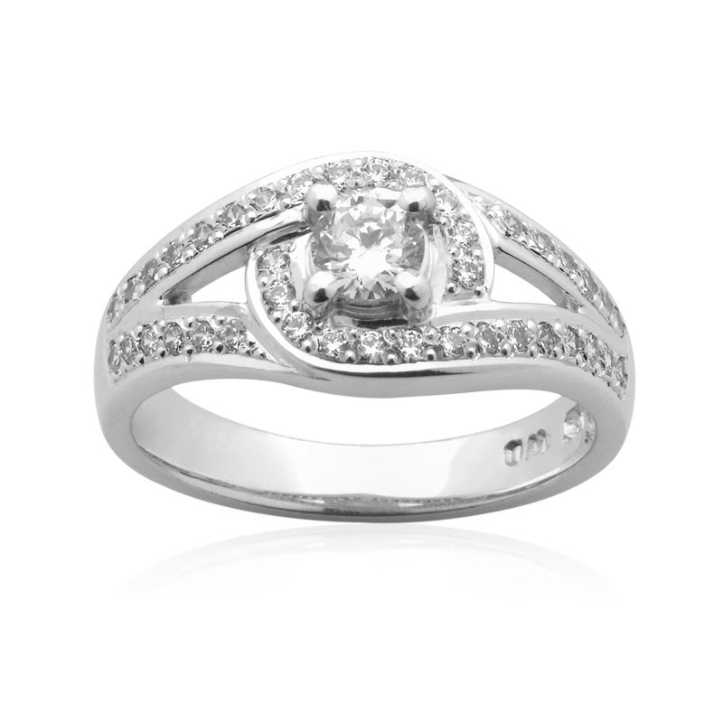 Diamond Engagement Ring – DD442