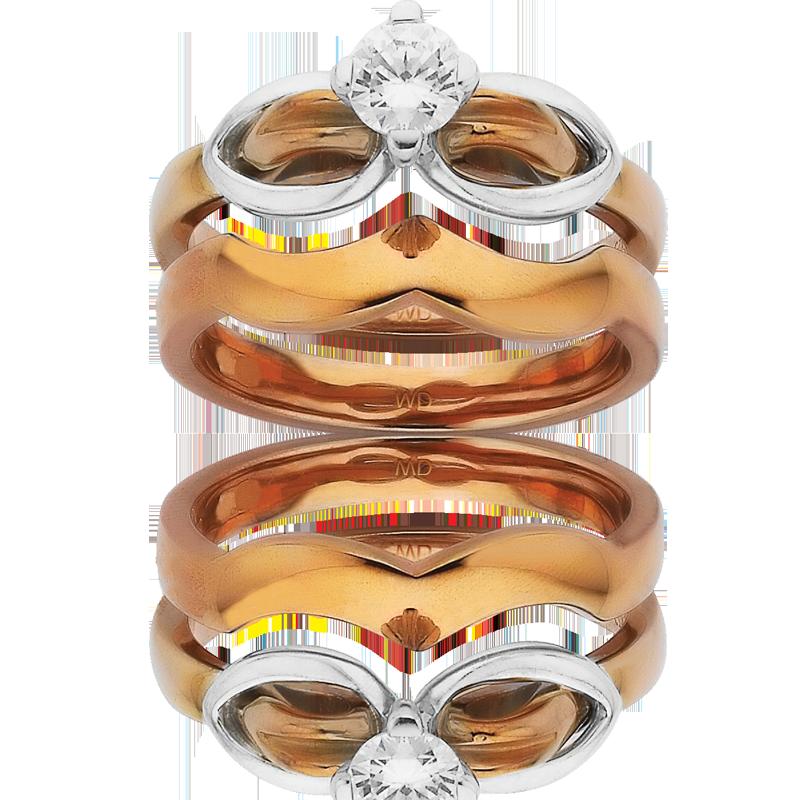 Diamond Engagement Ring – DD431W & DD438