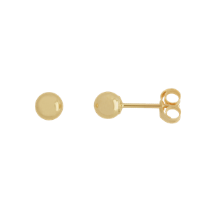<p>4mm Ball Stud Earrings</p>