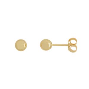 <p>4mm Ball Stud Earrings</p>