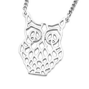 <p>FILIGREE OWL PENDANT</p>