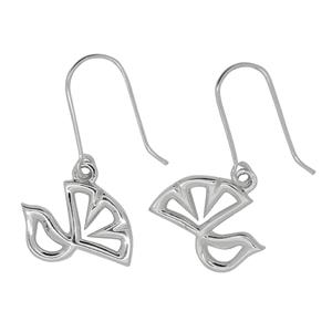 Memento Fantail Earrings with box