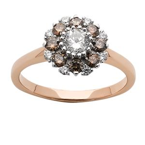 <p>Champagne Diamond Ring</p>