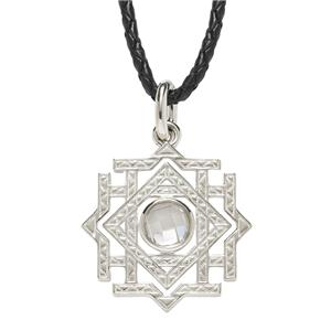 <p> The Hobbit - Arkenstone Pendant set with cubic zirconia.</p>