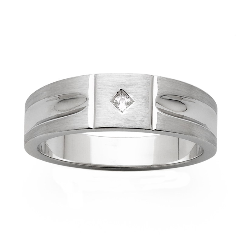 Men's Wedding Ring – AR594-7 D
