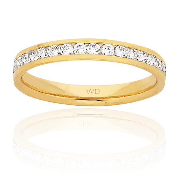 Women's Wedding Ring – AR566-C3 D