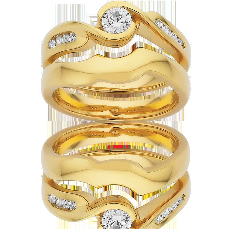 Diamond Engagement Ring – DD326 & DD424