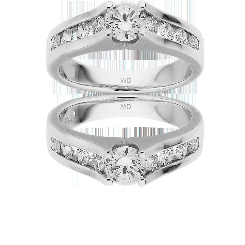 Diamond Engagement Ring – DD453