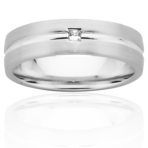 Men's Wedding Ring – AR461-C6 D