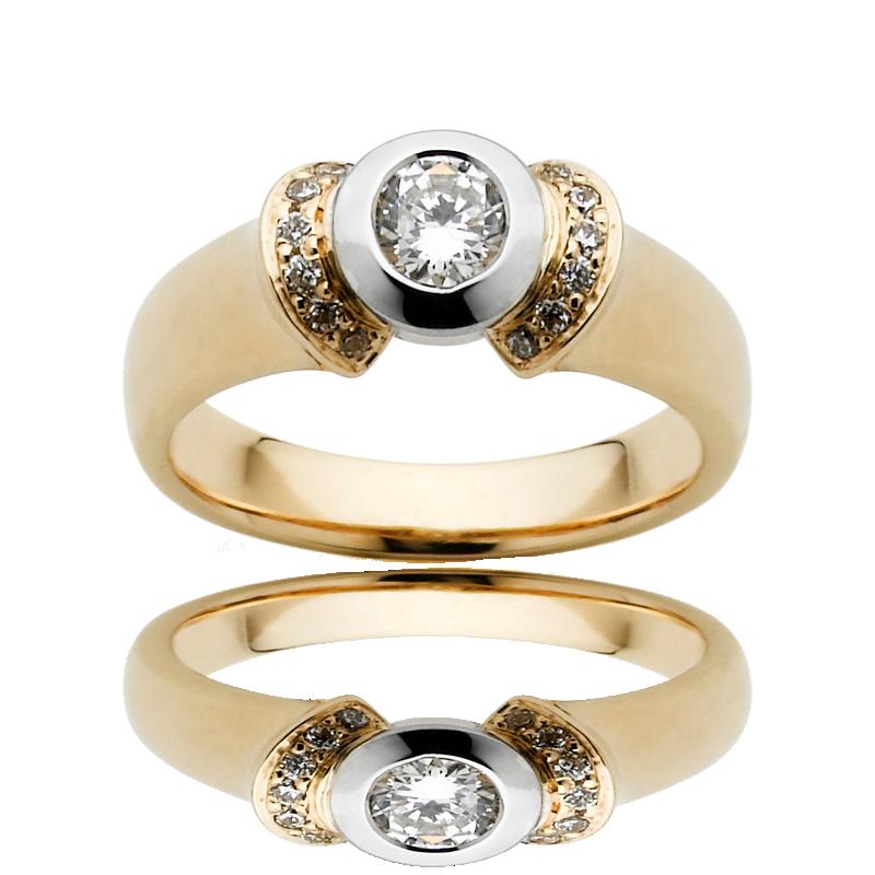 Diamond Engagement Ring – DD384W