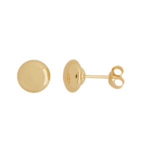 <p>6mm Flat Stud Earrings</p>