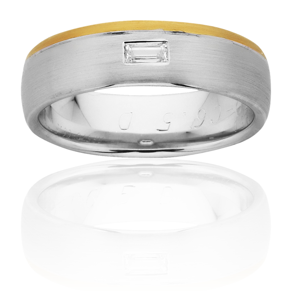 Men's Wedding Ring – AR570-C6.5 D