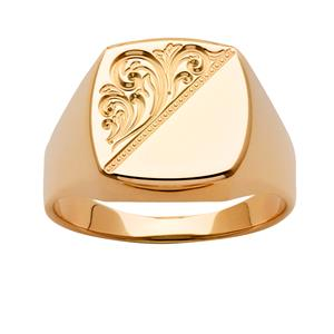 <p>Engraved Signet Ring</p>