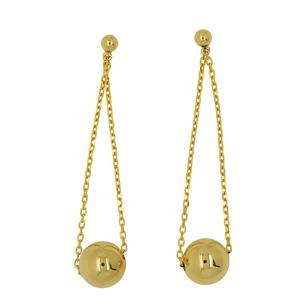 <p>9 Carat Yellow Gold Earrings</p>