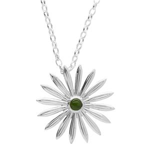 <p>Chatham Daisy Greenstone necklace</p>