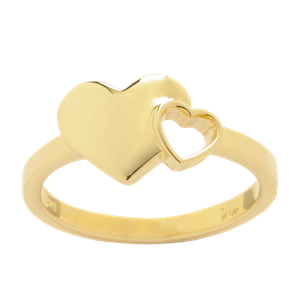 <p>Exploding Hearts Ring</p>
