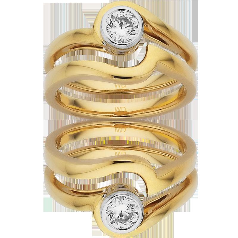 Diamond Engagement Ring – DD422W/30 & DD420