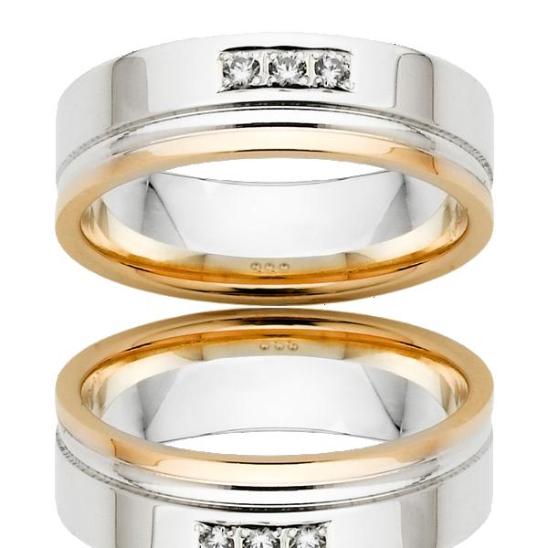 Men's Wedding Ring – AR563-C6.5 D