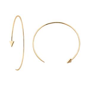<p>Kinetic Hoop Earrings</p>