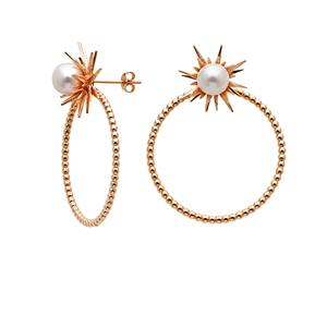 <p>Forbidden stud and hoop earrings.</p>