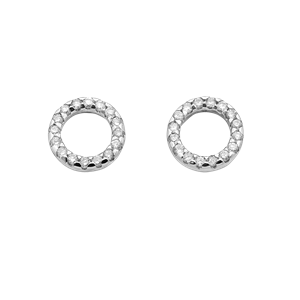 <p>Orbit diamond studs</p> <p>Available in 18 carat white, rose, yellow gold,&nbsp; 9 carat white, rose and yellow gold.</p>