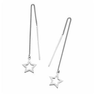 THREAD EARRINGS-STAR
