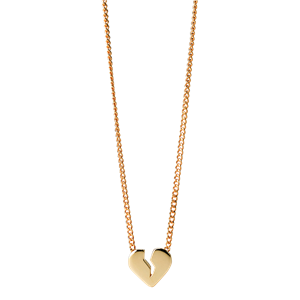 <p>Broken heart necklace</p>