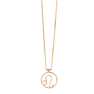 <p>Leo necklace available in yellow gold, rose gold and sterling silver.</p>