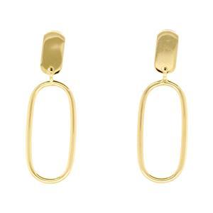 9ct & Silver Bonded Earrings