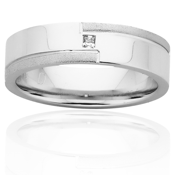 Men's Wedding Ring – AR472-C6 D