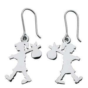 <p>RUNAWAY GIRL EARRINGS</p>