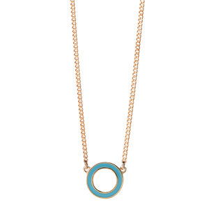 <p>Orbit enamel necklace</p>