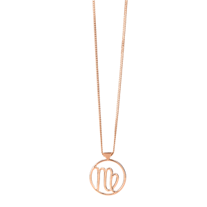 <p>Virgo necklace available in yellow gold, rose gold and sterling silver</p>