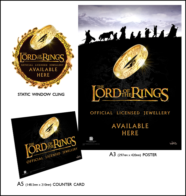 Lord of the Rings – LOTR Point Of Sale Pack