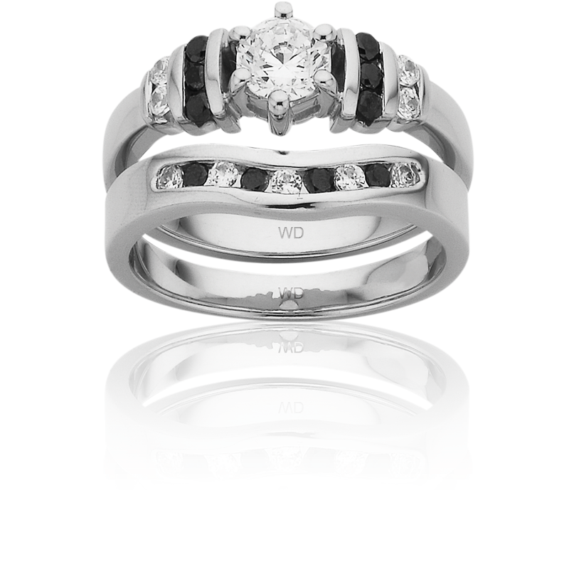 Diamond Engagement Ring – DD445 & LD877