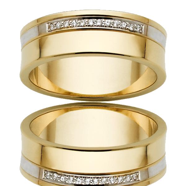 Men's Wedding Ring – AR583-7 D