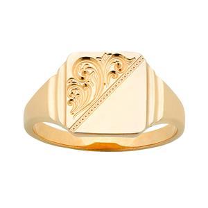 <p>Engraved Signet Ring</p>