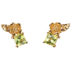 <p>&nbsp;Rock Garden Earrings - Peridot&nbsp;</p>