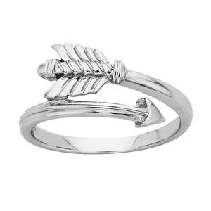 <p>Legolas' Arrow ring.<br /> <br /> Legolas Greenleaf is the son of King Thranduil of Mirkwood, and a highly skilled archer. He patrols the forests of Mirkwood with the Woodland Guard, defending his father's realm. He later travels to Rivendell as his father's representative, where he joins The Fellowship of the Ring (in The Lord of the Rings).<br /> <br /> Comes with official The Hobbit pouch.</p>