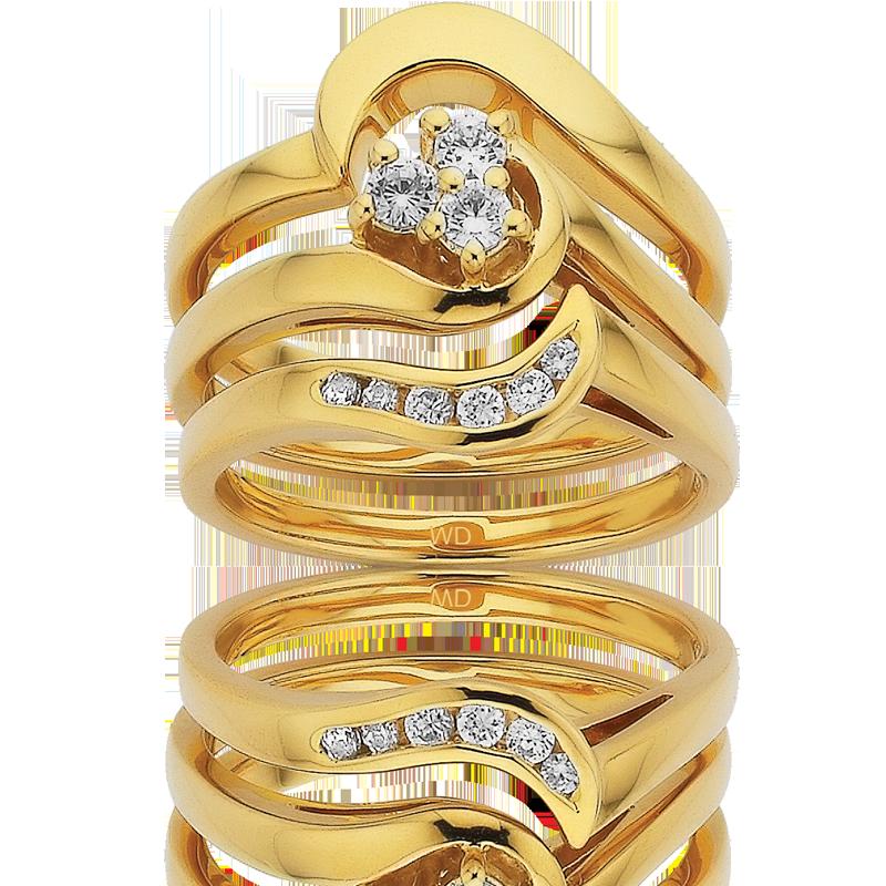 Diamond Engagement Ring – DD394, DD401 & DD393