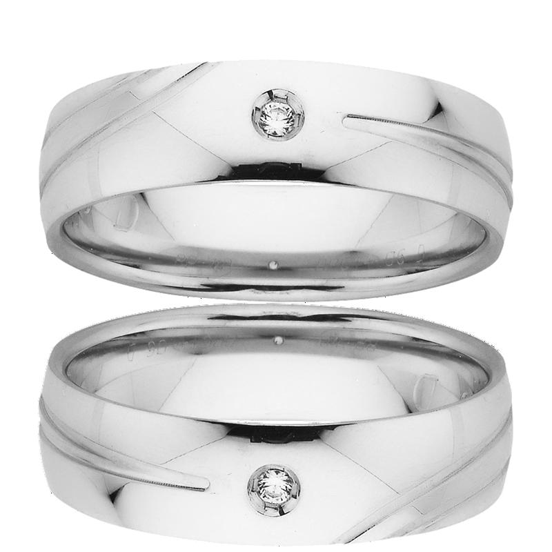 Men's Wedding Ring – AR614-C6 D