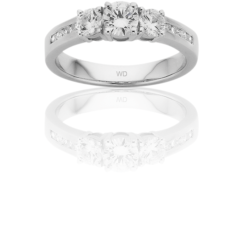 Diamond Engagement Ring – DD459